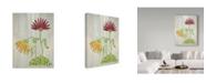 "Trademark Global Jessmessin 'Upbeat' Canvas Art - 35"" x 47"""
