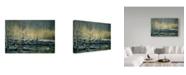 "Trademark Global Jeff Tift 'Early Morning Mallards' Canvas Art - 22"" x 32"""