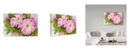 """Trademark Global Joanne Porter 'Wild Roses' Canvas Art - 30"""" x 47"""""""