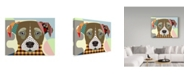 "Trademark Global Lanre Adefioye 'Jack Russell' Canvas Art - 35"" x 47"""