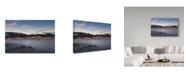 "Trademark Global NjR Photos 'Beyond The Pylons' Canvas Art - 22"" x 32"""