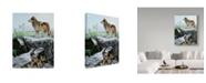"Trademark Global Ron Parker 'The Guardian' Canvas Art - 35"" x 47"""