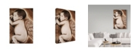 "Trademark Global Sheena Pike Art And Illustration 'Angel Of My Tears' Canvas Art - 30"" x 47"""