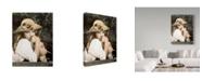 "Trademark Global Sharon Forbes 'Lovey Ducky' Canvas Art - 24"" x 32"""