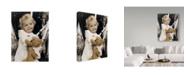 "Trademark Global Sharon Forbes 'No Peeking' Canvas Art - 35"" x 47"""
