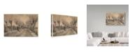 """Trademark Global Vincent Van Gogh 'Road In Etten' Canvas Art - 24"""" x 16"""""""