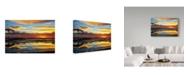 "Trademark Global Incredi 'Sunday Sunset' Canvas Art - 47"" x 30"""
