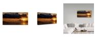 "Trademark Global Istvan Nagy 'Panorama Sunset No 1' Canvas Art - 47"" x 24"""