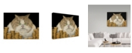 "Trademark Global J Hovenstine Studios 'Fat Cat' Canvas Art - 32"" x 24"""