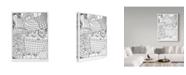 "Trademark Global Jessica Putnam 'Autumn 6' Canvas Art - 35"" x 47"""