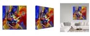 "Trademark Global Howie Green 'Bb King Portrait' Canvas Art - 35"" x 35"""