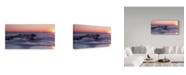 """Trademark Global Ian Tornquist 'Sun Up Ocean Grove' Canvas Art - 32"""" x 16"""""""