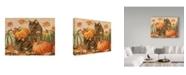 "Trademark Global Jan Benz 'Double Trouble Cats' Canvas Art - 32"" x 24"""
