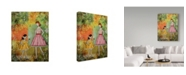 """Trademark Global Janelle Nichol 'In The Springtime' Canvas Art - 35"""" x 47"""""""