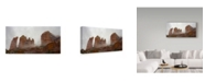 "Trademark Global Janice Sullivan 'Sedona Fog' Canvas Art - 32"" x 16"""