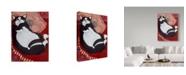 "Trademark Global Jan Panico 'Not A Creature Was Stirring' Canvas Art - 35"" x 47"""