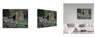 "Trademark Global J.D. Mcfarlan 'Oliver Cabin, Tn' Canvas Art - 32"" x 24"""
