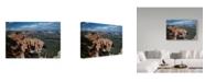 "Trademark Global J.D. Mcfarlan 'Soaring Over Bryce' Canvas Art - 47"" x 30"""
