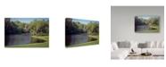 "Trademark Global J.D. Mcfarlan 'Middleton Place, Sc 4' Canvas Art - 47"" x 30"""