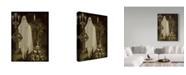 "Trademark Global Jean Plout 'Halloween Graveyard 6' Canvas Art - 35"" x 47"""