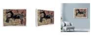 "Trademark Global Maria Pietri Lalor 'Ethnic Deer' Canvas Art - 47"" x 35"""