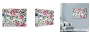 "Trademark Global Marietta Cohen Art And Design 'Graphic Flowers' Canvas Art - 32"" x 24"""