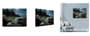 "Trademark Global Natalie Mikaels 'Heaven Over Tahoe' Canvas Art - 24"" x 18"""