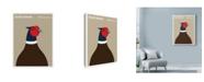 "Trademark Global Print Collection - Artist 'South Dakota Pheasant' Canvas Art - 35"" x 47"""