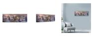 "Trademark Global Nicky Boehme 'To Grandmas House We Go' Canvas Art - 24"" x 8"""