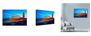 "Trademark Global Nina Papiorek 'London Big Ben City' Canvas Art - 24"" x 16"""