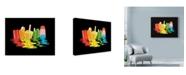 "Trademark Global Rachel Caldwell 'Melted Summer Dreams' Canvas Art - 32"" x 24"""