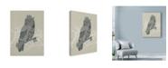 "Trademark Global Rachel Caldwell 'Owl King' Canvas Art - 35"" x 47"""