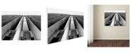 "Trademark Global Miguel Paredes 'Skyscraper' Canvas Art - 24"" x 18"""