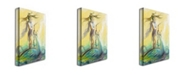 "Trademark Global Osay 'Bohemio' Canvas Art - 32"" x 22"""