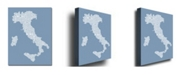 "Trademark Global Michael Tompsett 'Italy in Blue' Canvas Art - 24"" x 18"""