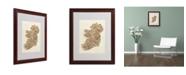 """Trademark Global Michael Tompsett 'Ireland III' Matted Framed Art - 20"""" x 16"""""""