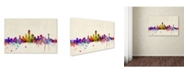 "Trademark Global Michael Tompsett 'Dallas, Texas' Canvas Art - 24"" x 16"""