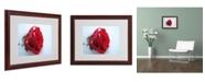 """Trademark Global Monica Fleet 'Never Forgotten' Matted Framed Art - 20"""" x 16"""""""