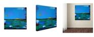 "Trademark Global Nicole Dietz 'Sunrise' Canvas Art - 24"" x 24"""