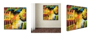"Trademark Global Ricardo Tapia 'Street Light' Canvas Art - 35"" x 35"""