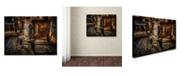 "Trademark Global Lois Bryan 'Liberty Wood Stove' Canvas Art - 35"" x 47"""