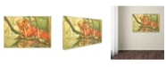 "Trademark Global Vintage Apple Collection 'CA Fairy 36' Canvas Art - 12"" x 19"""