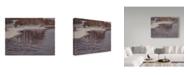 "Trademark Global Rusty Frentner 'Huron River Cold' Canvas Art - 14"" x 19"""
