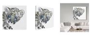 "Trademark Global Mark Adlington 'Cub' Canvas Art - 14"" x 14"""