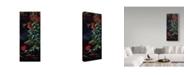 "Trademark Global Wilhelm Goebel 'Ruby Throated Hummingbird' Canvas Art - 14"" x 32"""