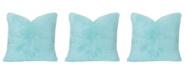 "Crayola Playful Plush Robin's Egg Blue 20"" Designer Throw Pillow"