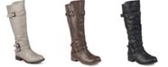 Journee Collection Women's Wide Calf Bite Boot
