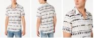 GUESS Men's Rogan Zig-Zag Stripe Shirt
