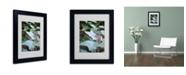 """Trademark Global Monica Fleet 'Kletterefeu' Matted Framed Art - 14"""" x 11"""""""