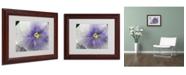 """Trademark Global Monica Fleet 'Untainted Purity' Matted Framed Art - 14"""" x 11"""""""